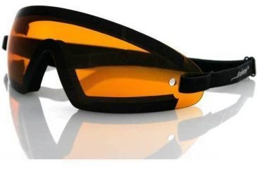 Bobster Wrap Around Goggles with Black Frame