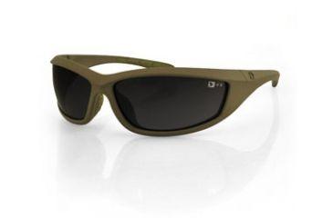 Bobster Zulu Ballistics Eyewear, Coyote Tan Frame, Anti-fog Smoked EZUL001CT