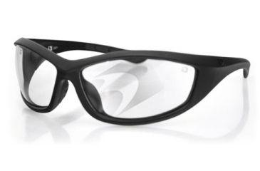 Bobster Zulu Ballistics Eyewear, Matte Frame, Anti-fog Clear EZUL001C