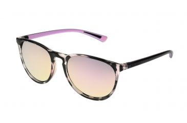 4c62d24f6e Body Glove Cloudbreak Sunglasses, Black Demi Pattern Frame, Polarized Pink  Flash Mirror Lens,