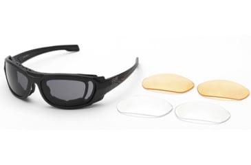 Body Specs BSG-5 Matt Black Frame with Rx Gasket, Black BSG-5 BLK/PKG/RX GASKET