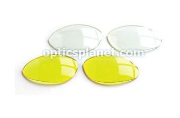 Included Lenses - Clear and Yelow