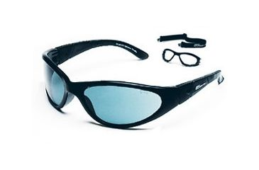 Body Specs Photo Sunlights Sunglasses with Black Frame and Photochromic Grey Lens