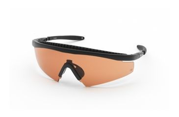 Body Specs Slings Shooting Glasses, Black Frame & Brown Lens SLINGS-BLK-BROWN