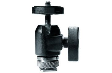 Manfrotto Bogen Micro Ball Head With Hot Shoe Mount 492LCD