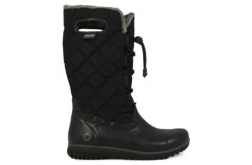 Bogs Juno Lace Tall Rubber Boot - Womens-Black-Medium-6 US