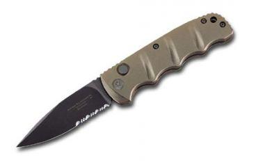 Boker USA Plus Kalashnikov Button Lock Folding Carry Knife, Olive Drab 01KALS74B