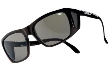 Bolle 711 Sunglasses Classics Black Frame / Polarized TNS Lenses - 1711001038