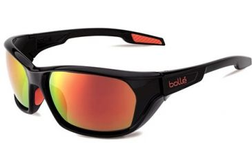 Bolle Aravis Single Vision Prescription Sunglasses - Shiny Black Frame 11661RX