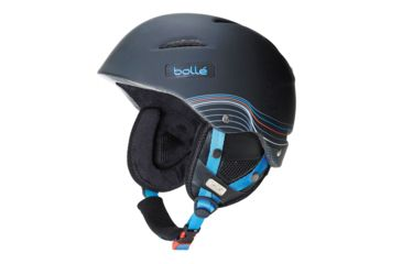 Bolle B-Star Helmet, Soft Black and Blue, 54-58cm 30663
