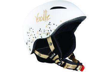 Bolle B-Star Soft White Leopard Frame 58-61cm Lens, Helmet 30532
