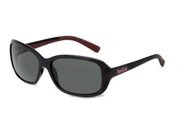 Bolle Bolle Molly Sunglasses, Shiny Black/Coral 11690