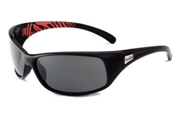 Bolle Bolle Recoil Sunglasses, Shiny Black/Red 11699