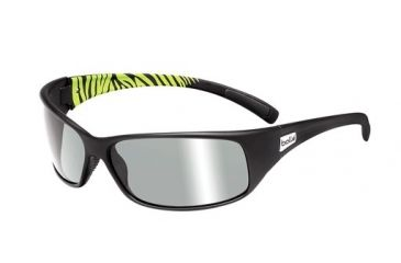 Bolle Bolle Recoil Sunglasses, Shiny Gun/Green 11700