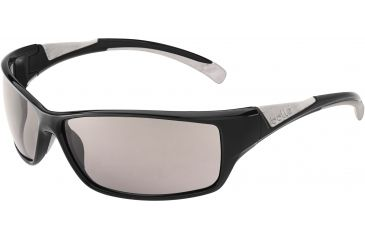 Bolle Bolle Speed Sunglasses, Shiny Black/Grey 11630