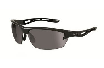 88d8ee86e Bolle Bolt Sunglasses, Shiny Black Frame, Photochromic, Polarized TNS Oleo  AF Lens,