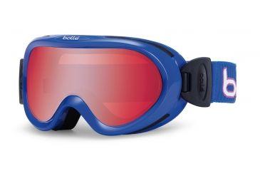 Bolle Boost OTG Kids Ski Goggles - Indigo Corduroy Frame and Vermillon Gun Lens 21025