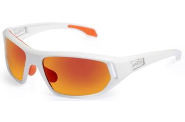 Bolle Cervin Sunglasses, Shiny White Frame, TNS Fire Lenses 11586