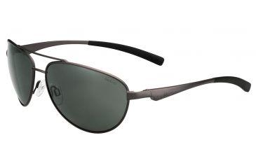 Bolle Columbus Single Vision Prescription Sunglasses, Satin Gun Frame-11799SV