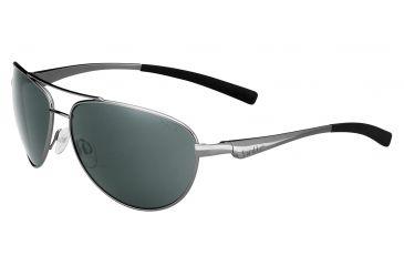 Bolle Columbus Single Vision Prescription Sunglasses, Shiny Gun Frame-11796SV