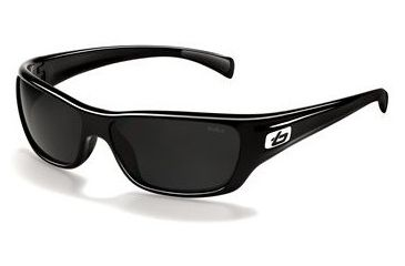 Bolle Crown Sunglasses 11274, Shiny Black Frame