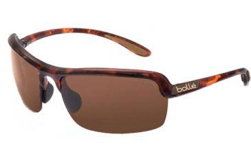 Bolle Dash Sunglasses, Dark Tortoise Frame, Polarized A-14 Lens, 11247