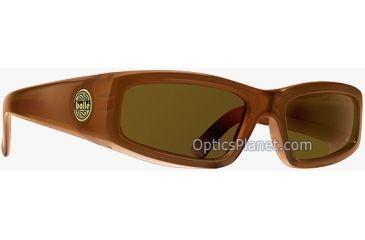 Bolle Dirty 8 Spank Fashion Sunglasses Shiny Black Frame , Polarized TNS Lens 10257