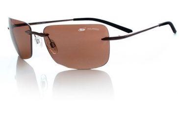 Bolle Polarized Sunglasses Greta - Shiny Espresso/ Pol Sandstone