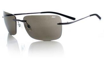 Bolle Greta Sunglasses - Shiny Gunmetal/TNS