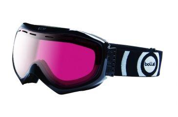 Bolle 20738 Quasar Goggles - Black Vermillion Gunmetal