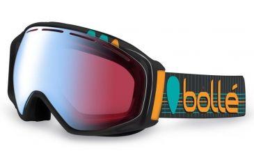 Bolle Gravity Ski/Snowboard Goggles - Athlete Signature Series Alex Chumpy Pullin Frame and Modulator Vermillon Blue Photochromic Lens 21039