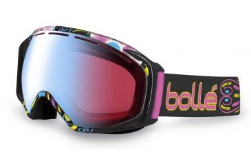 Bolle Gravity Ski/Snowboard Goggles - Athlete Signature Series Lindsey Jacobellis Frame and Modulator Vermillon Blue Photochromic Lens 21038