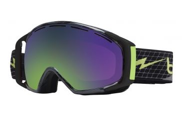 Bolle Gravity Ski/Snowboard Goggles - Green Bolt Frame and Green Emerald Lens 20928