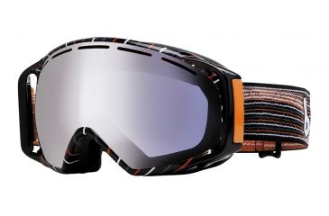 Bolle Gravity Ski/Snowboard Goggles - Grey and Orange Waves Frame and Aurora Lens 20924