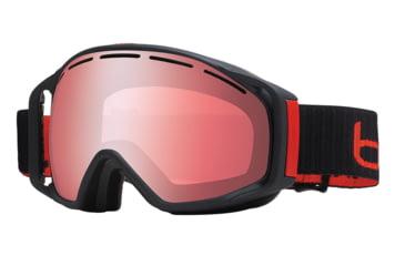Bolle Gravity Ski/Snowboard Goggles - Matte Black  Frame and Vermillon Gun Lens 21032