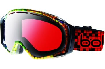 Bolle Gravity Black Mosaic Frame Vermillon Gun Lens Goggle 20812