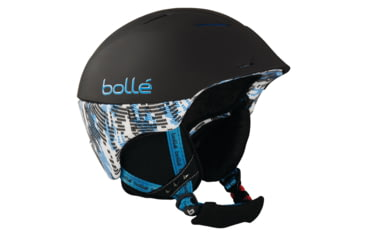 Bolle Helmet, Synergy Soft Black and Blue for 54-58cm Goggle 30505