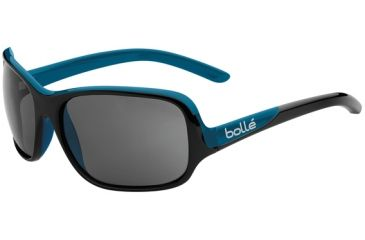 Bolle Kassia Sunglasses, Polarized TNS Oleo AF, Shiny Black / Blue 11749