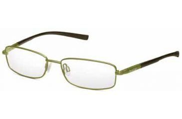 Bolle Monaco Eyewear - RX No Line Progressive Lenses - Satin Green / Brown Frames