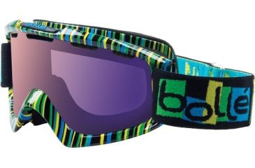 Bolle Nova Ski/Snowboard Goggles, Tiki Frame, Aurora Lens 20683