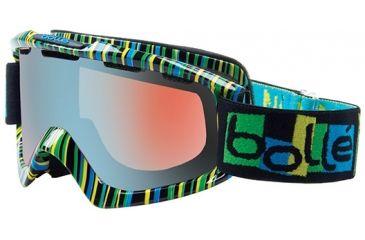 Bolle Nova Goggles, Tiki Frame, Modulator Vermillon Blue Lens 20835