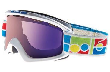 Bolle Nova Goggles, White Frame, Aurora Lens 20839