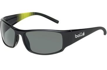 Bolle Prince Single Vision Prescription Sunglasses - Shiny Black/Multicolor Frame 11715RX