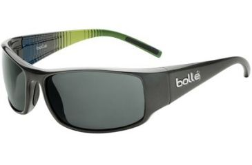 Bolle Prince Single Vision Prescription Sunglasses - Shiny Gun/Multicolor Frame 11716RX