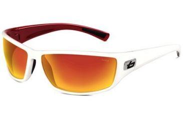 Bolle Python Progressive Prescription Sunglasses - White/Metallic Red Frame 11334PRG