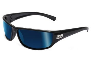 Bolle Python Progressive Prescription Sunglasses - Shiny Black Frame 11333PRG