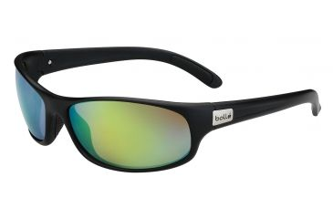 Bolle Recoil Single Vision Prescription Sunglasses, Matte Black Frame-11809SV