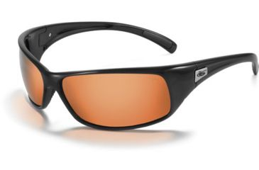 Bolle Recoil Single Vision Prescription Sunglasses - Shiny Black Frame 11054RX