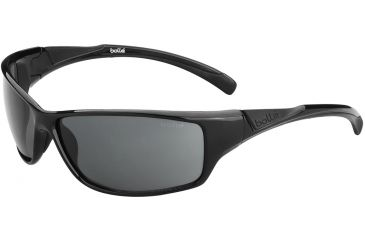 Bolle Speed Sunglasses, TNS, Shiny Black/Black 11813