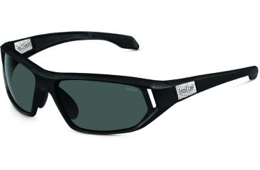 Bolle Cervin Single Vision Sunglasses, Shiny Black Frame 11585